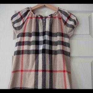 Burberry dress size 8 girls